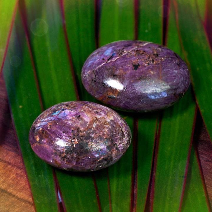 Ruby Palm Stones