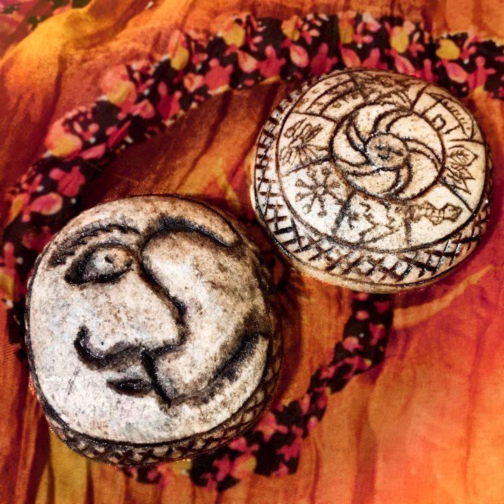 Peruvian Pachamama Pachapapa Carvings