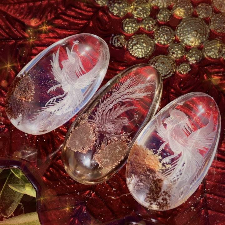 Phoenix Rebirth Shaman's Dream Stones