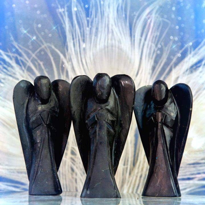 Protective Purifying Shungite Angels