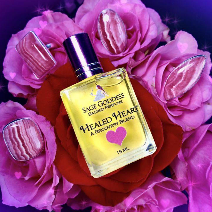 Rhodochrosite Rings & Healed Heart Perfume DD 1of4 BP