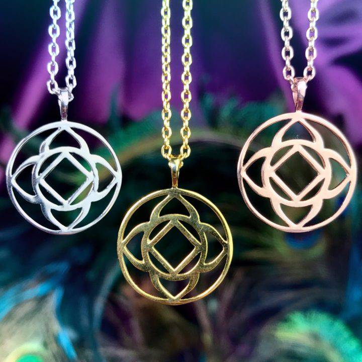 Grounding and Protection Sterling Silver Root Chakra Necklaces
