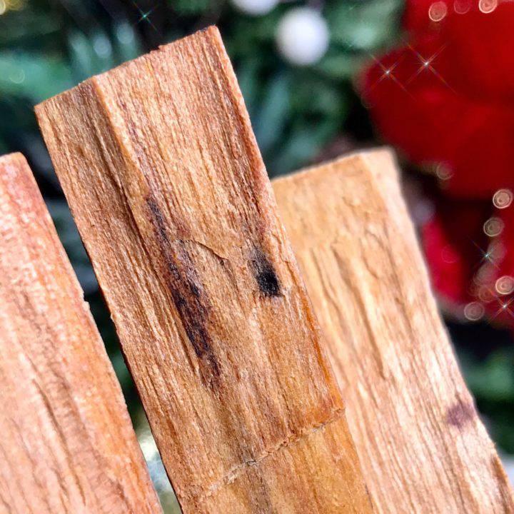 SG Custom Balsam de Peru Infused Palo Santo Sticks