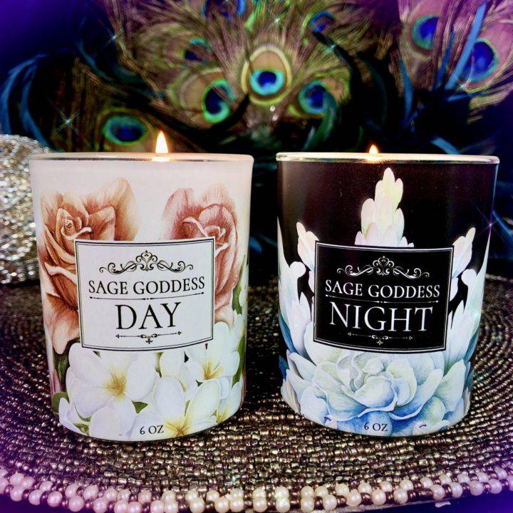 Custom SG Day and Night Candle Duo
