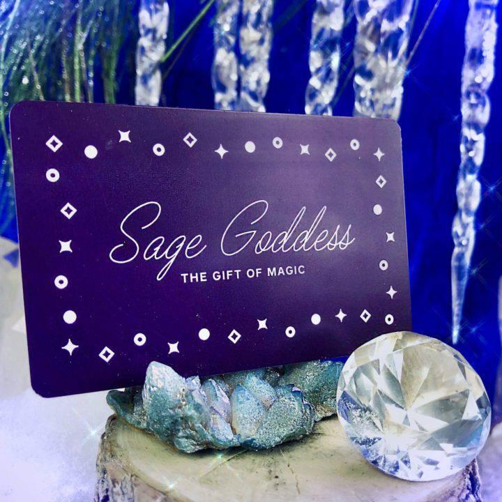 Sage Goddess Gift Card