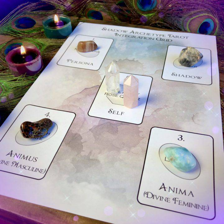 Shadow Archetype Tarot Integration Grid