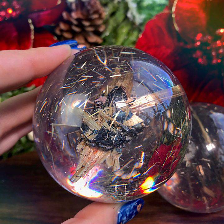 Star Rutile Orgonite Spheres_1of3_11_28