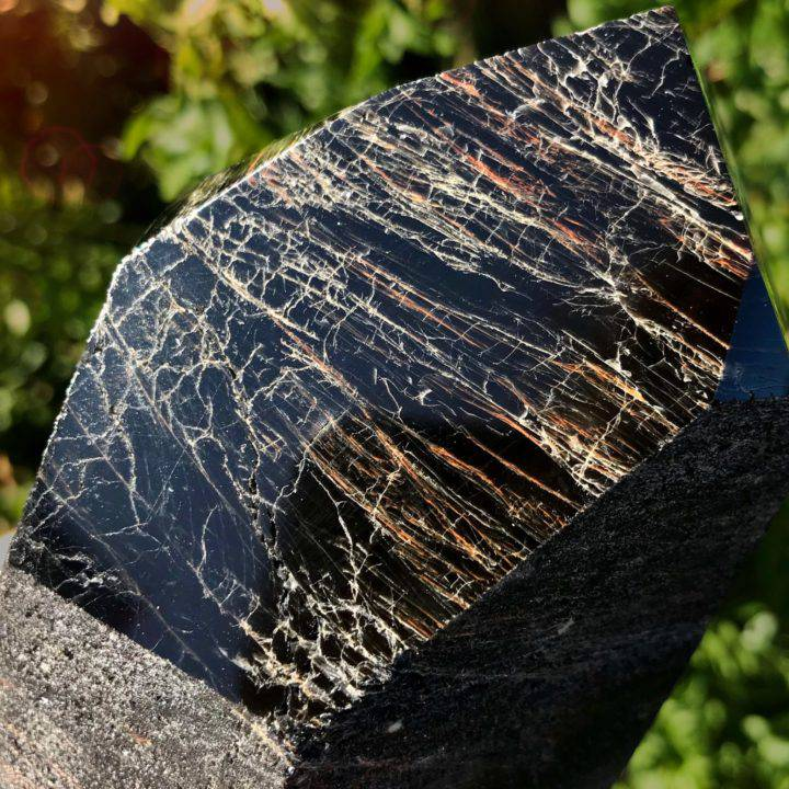 Ultimate Grounding and Protection Black Tourmaline with Red Hematite Generators
