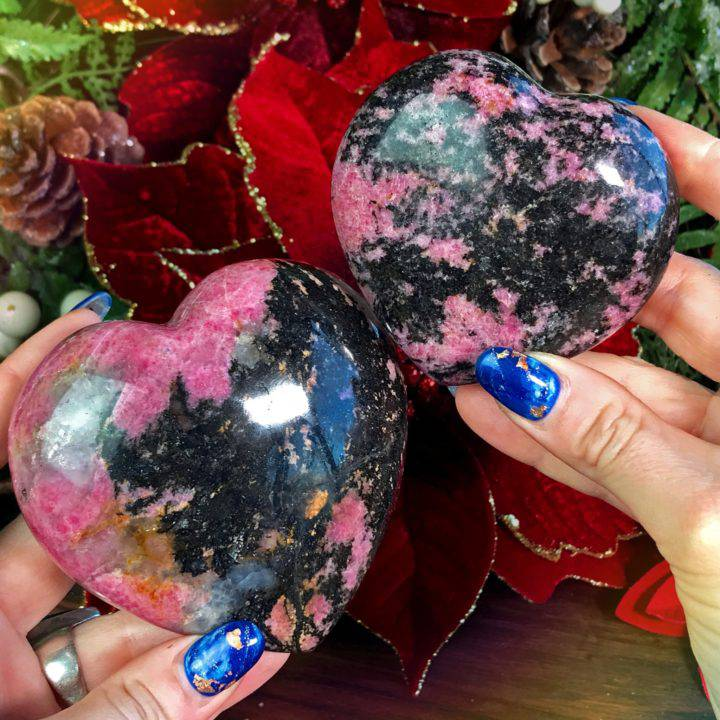 Ultimate Love and Trust Rhodonite Healing Hearts 1of3_11_28