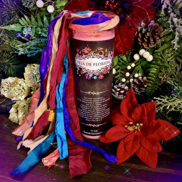 Vela de Florida Energetic Clearing and Blessing Intention Candles