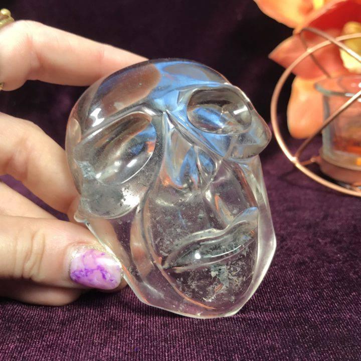 Lodolite in Quartz Mask