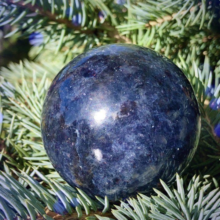 AAA Grade Iolite Spheres