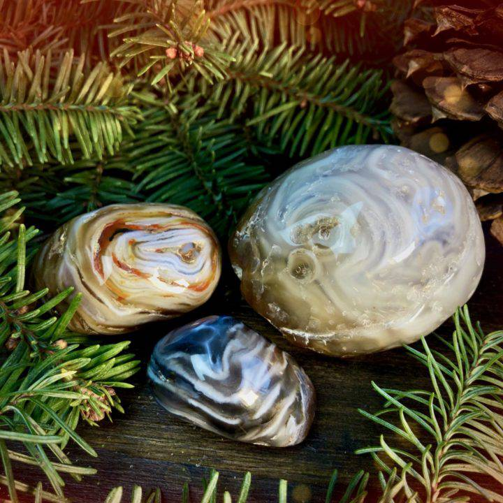 Ancient Wisdom and Healing Enhydro Agate
