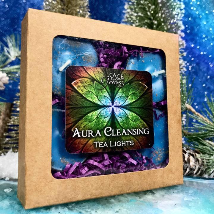 Aura Cleansing Intention Tea Lights