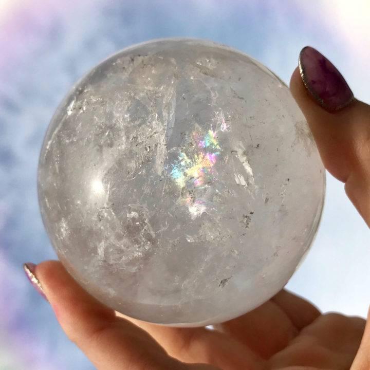 Clear Quartz Wishing Spheres
