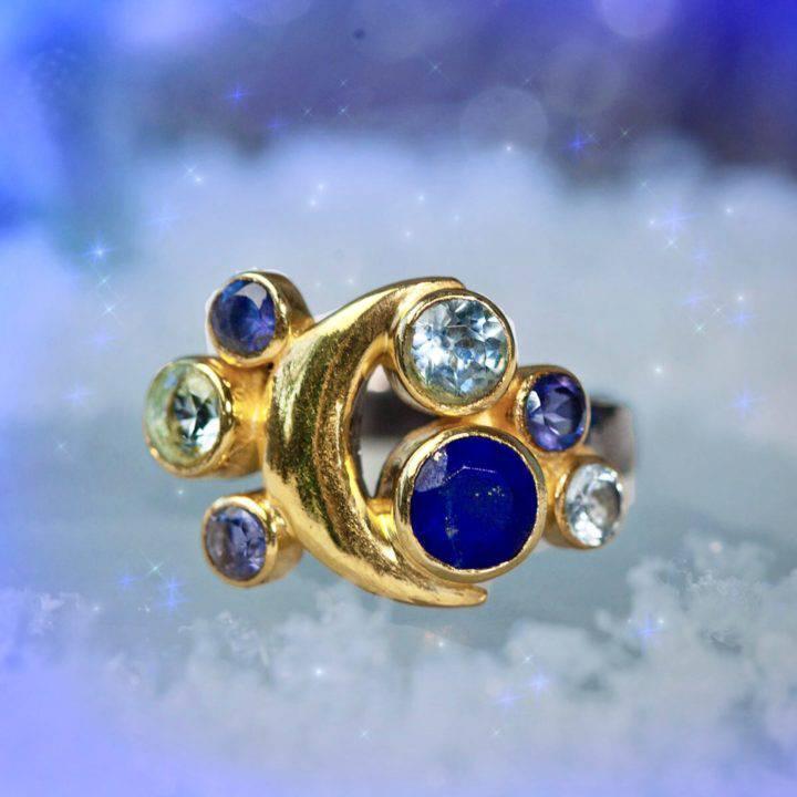 Custom SG Moon Visioning Dream Rings
