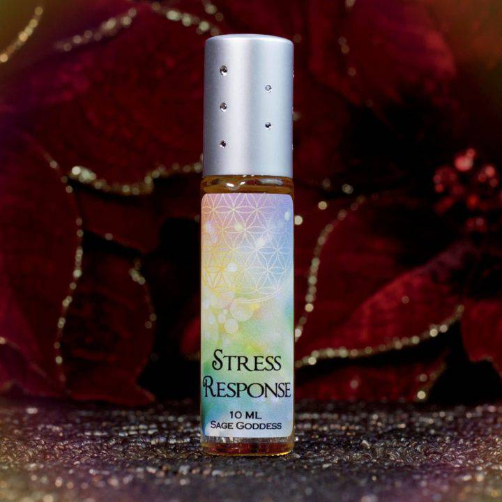 Emotional Trauma Healing Harlequin Quartz with Stress Response Perfume