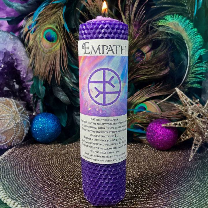 Empath Beeswax Intention Candles