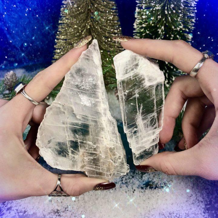Energetic Clearing Crystal Selenite