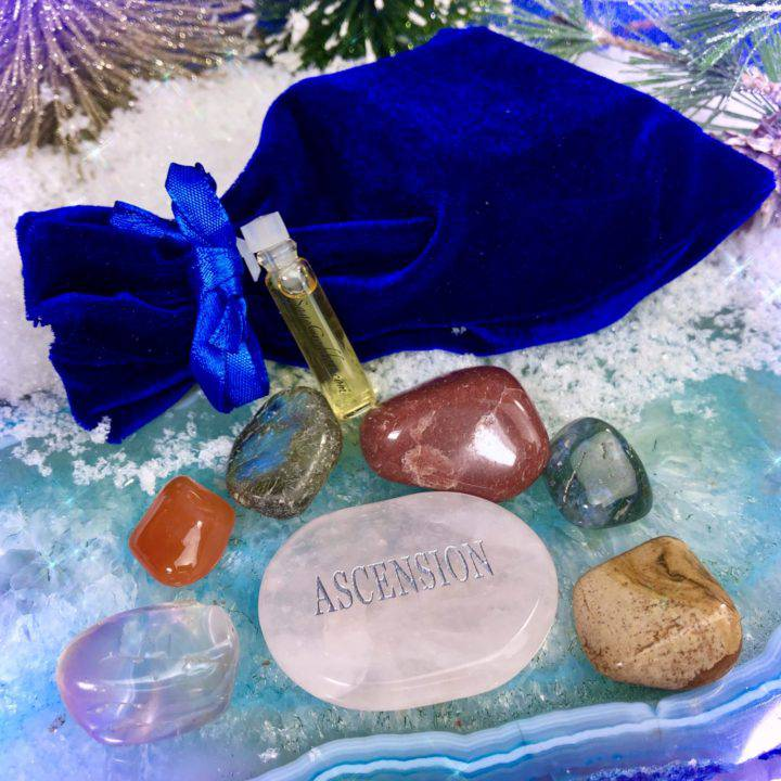 Intuitively Chosen Gemstone Gift Set