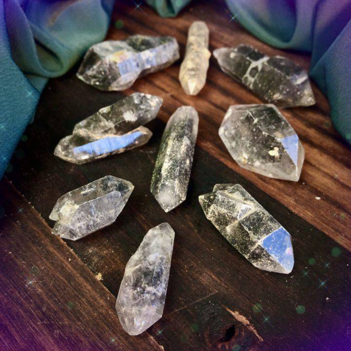 Master Healer Double Terminated Tibetan Quartz Points