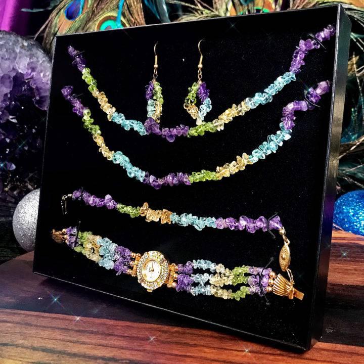 Peace, Prosperity, and Abundance Jewelry Gift Set