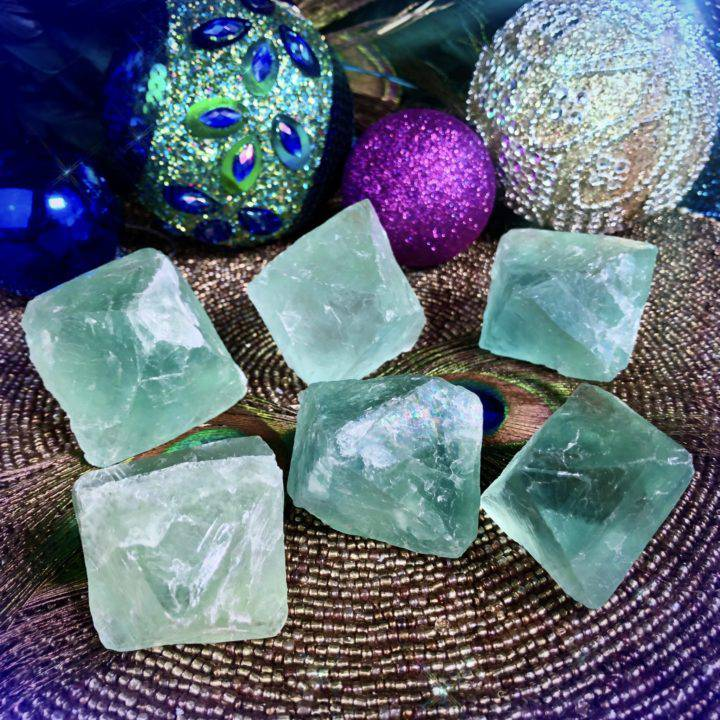 Priestess Soul Pathing Fluorite Octahedrons