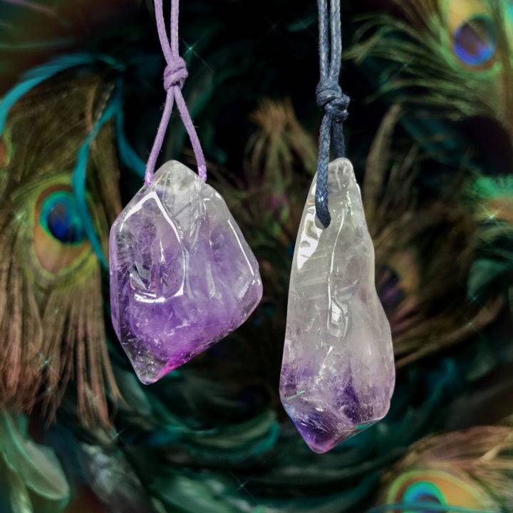 SG Exclusive Hovave Art AAA Grade Amethyst Pendants
