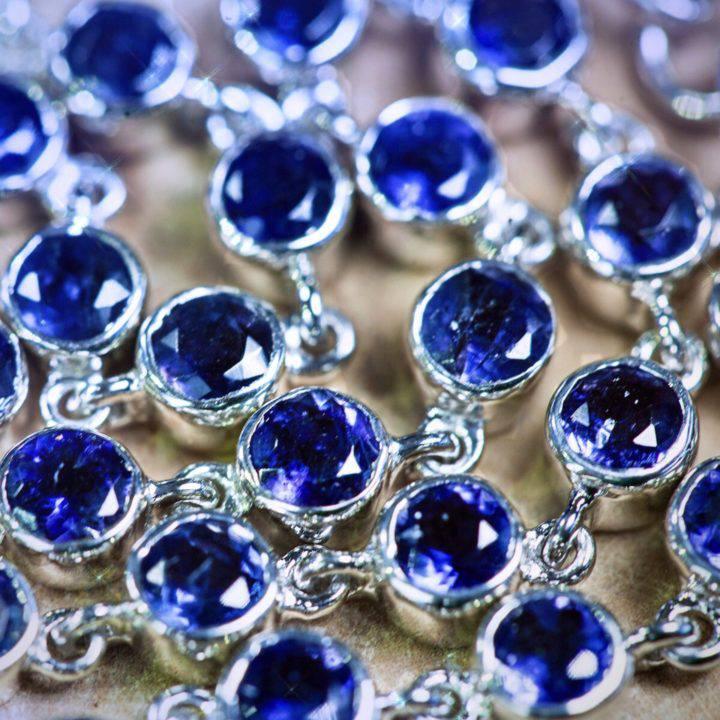 Third Eye Visioning Iolite Bracelets