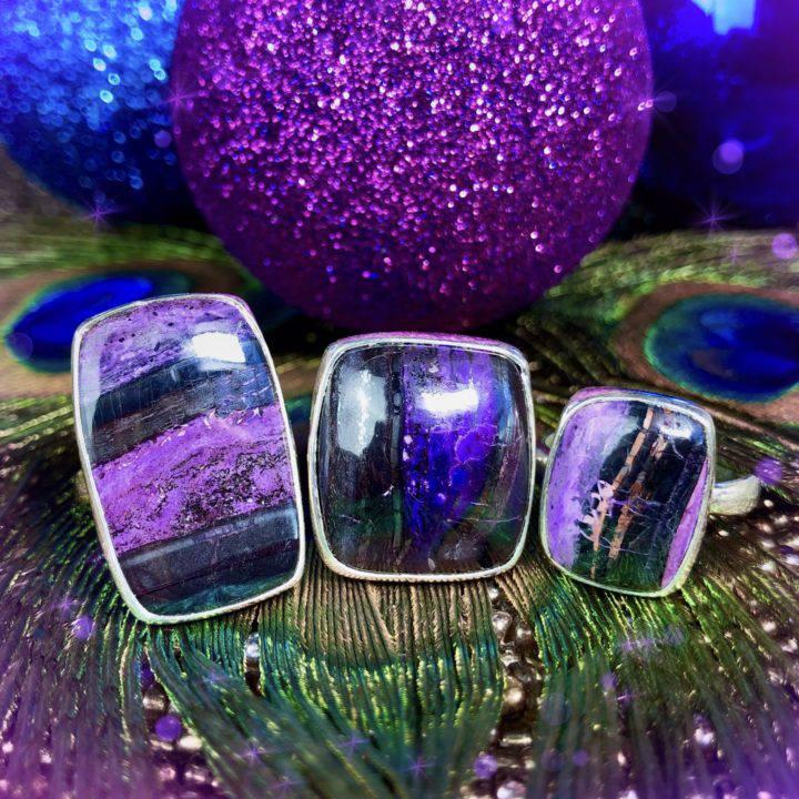 Sugilite Rings