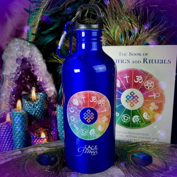Book of Blessings Water Bottles
