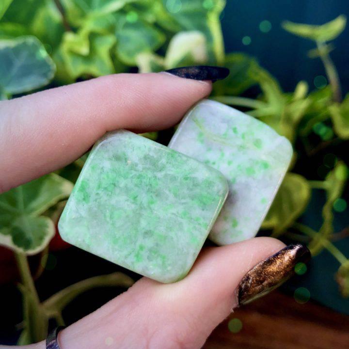 Emotional Healing Saussurite Bra Stones