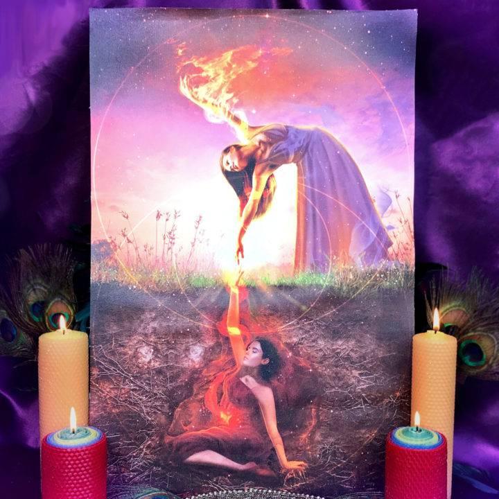 Fire Festival Trilogy Altar Mats