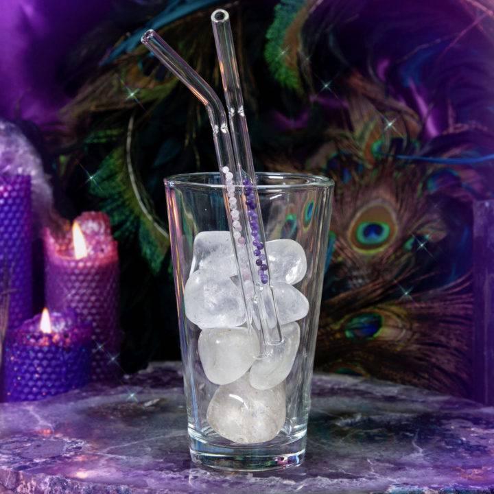 Gemstone Drinking Straws