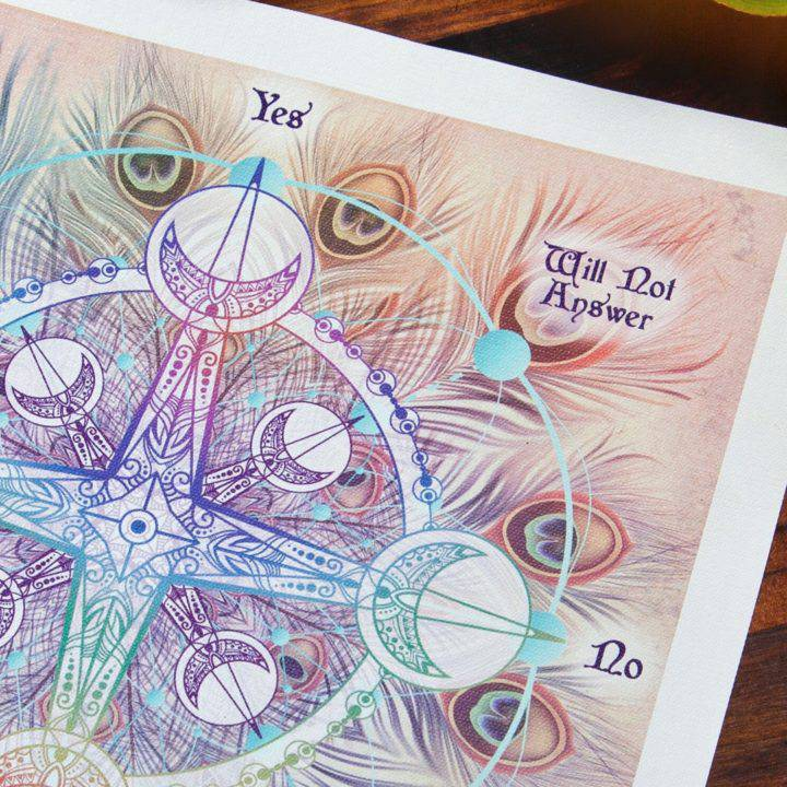 Green Aventurine Pendulums with Divination Mat