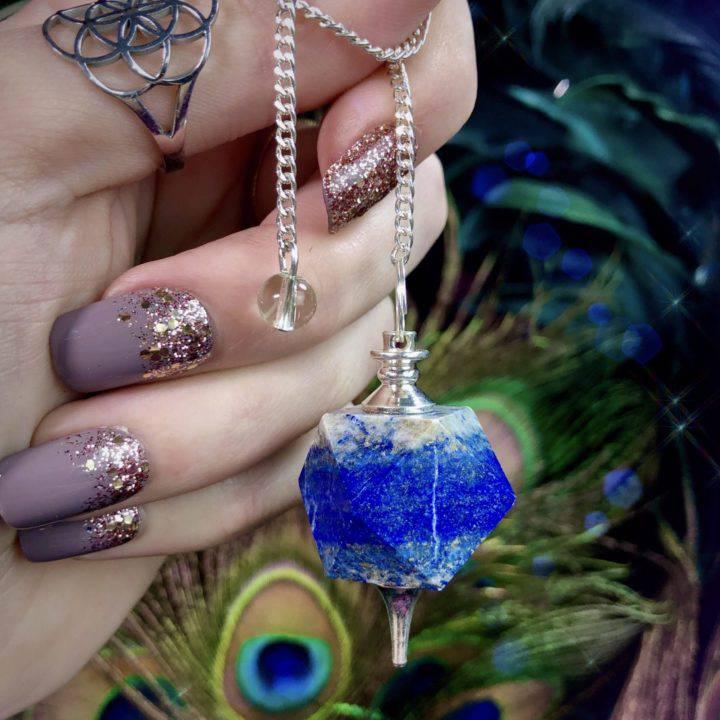 Lapis Lazuli Divination Pendulums
