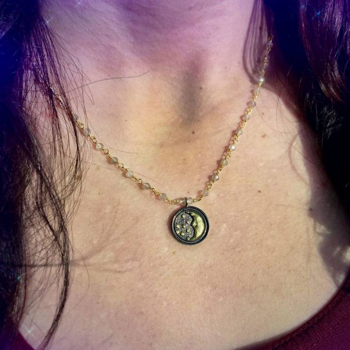 New Moon Intention Necklaces