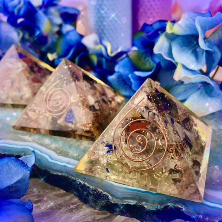 Orgonite Vortex Pyramids