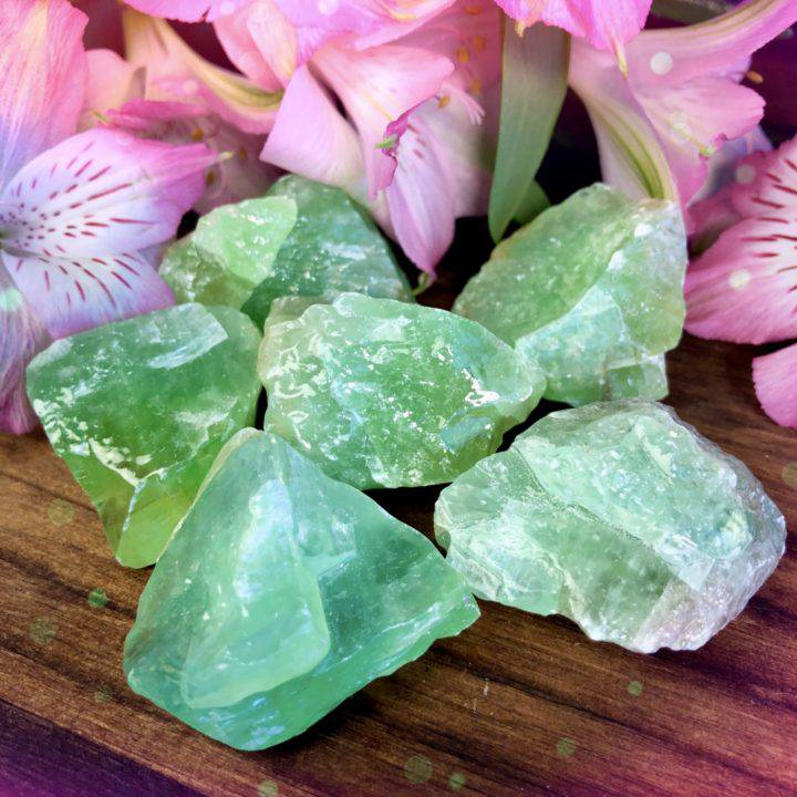 Peaceful Healing Natural Green Calcite