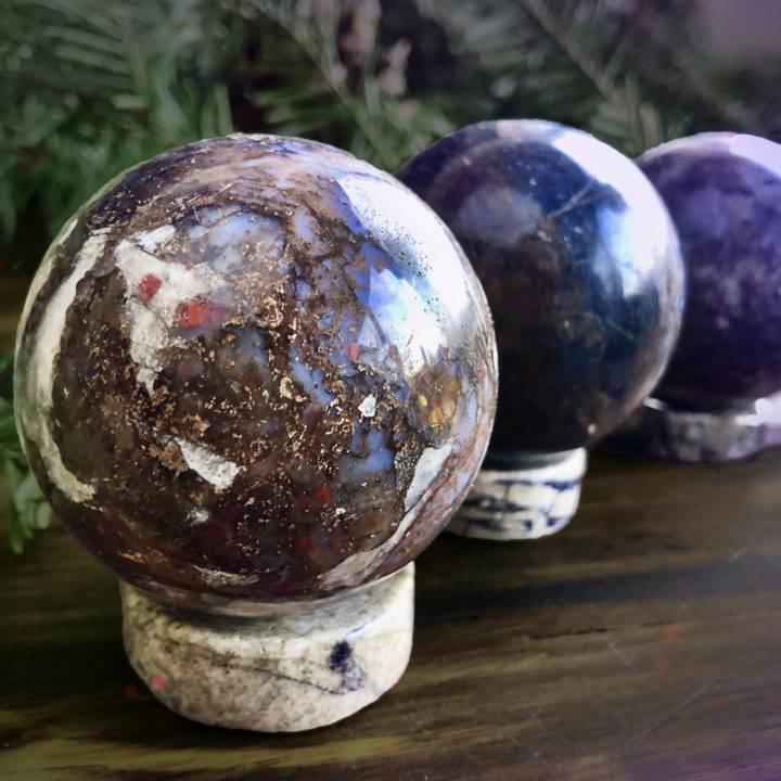Pietersite Spheres