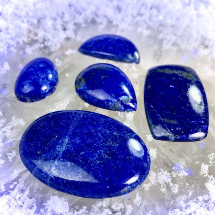 Queen's Lapis Lazuli Cabochons
