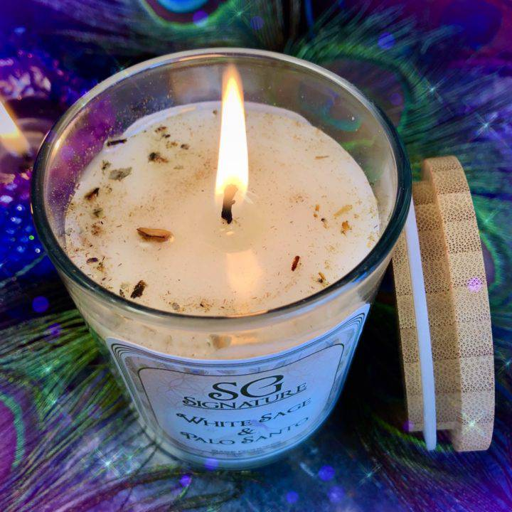 SG Signature Smudge Intention Candles
