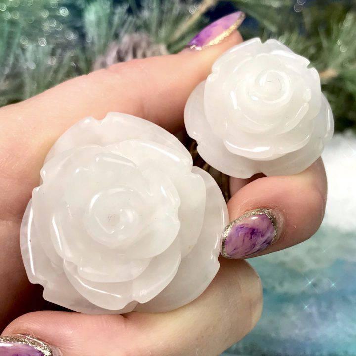 Snow Quartz Pure Peace Roses
