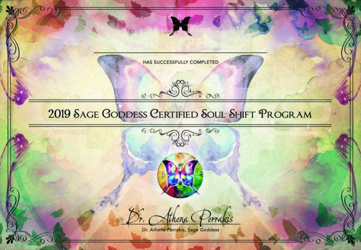 Soul Shift 2019 Graduation Certificates