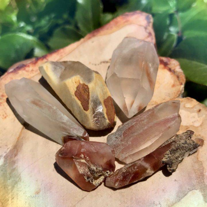 Trauma Release Natural Amphibole Quartz