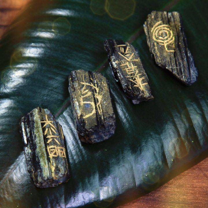 Ultimate Protection and Healing Black Tourmaline Reiki Set