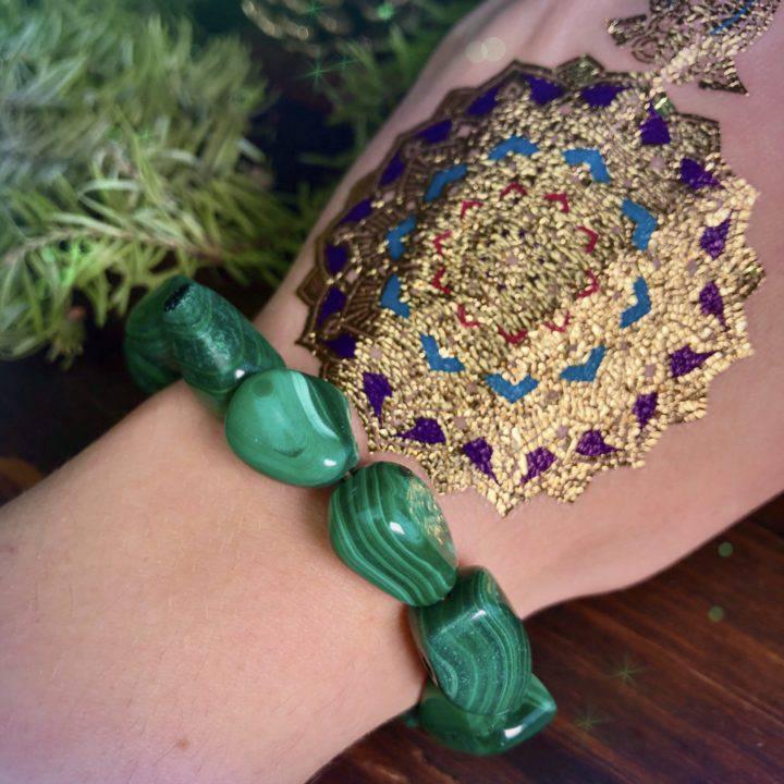 Wellness Perfume with free Malachite Bracelet