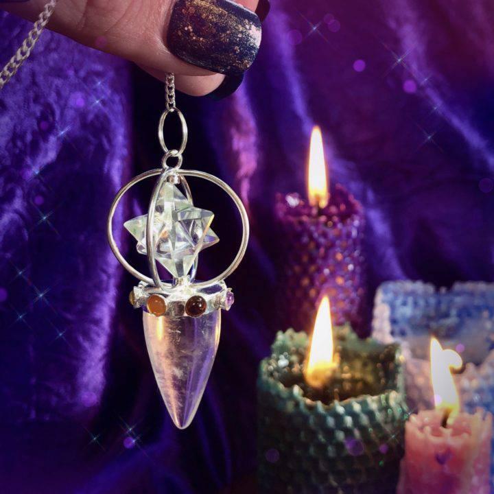 Chakra Balancing Merkaba Pendulums
