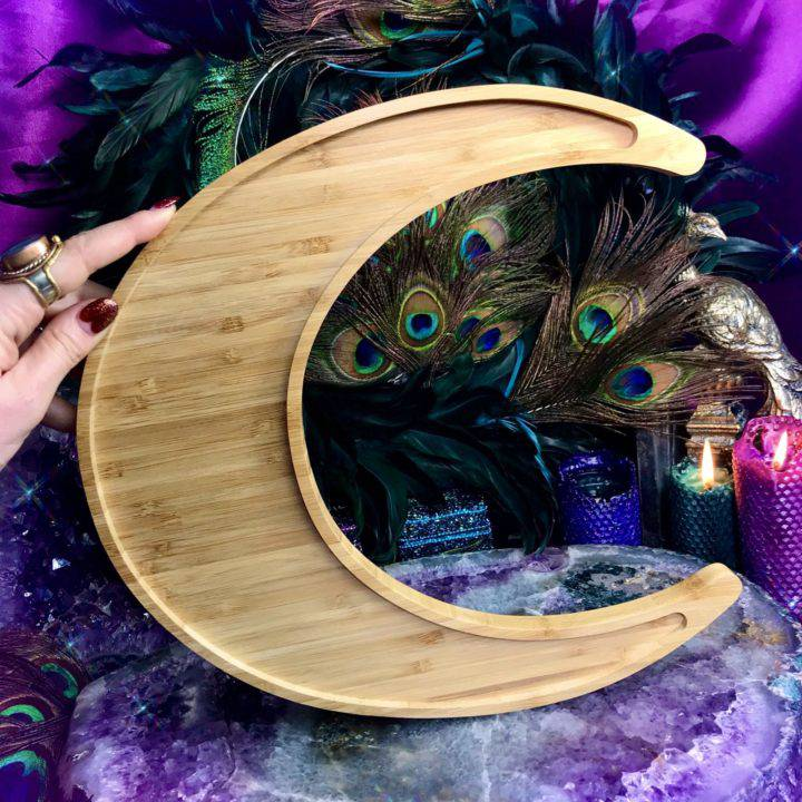Cosmic Bamboo Altar Plate Sets