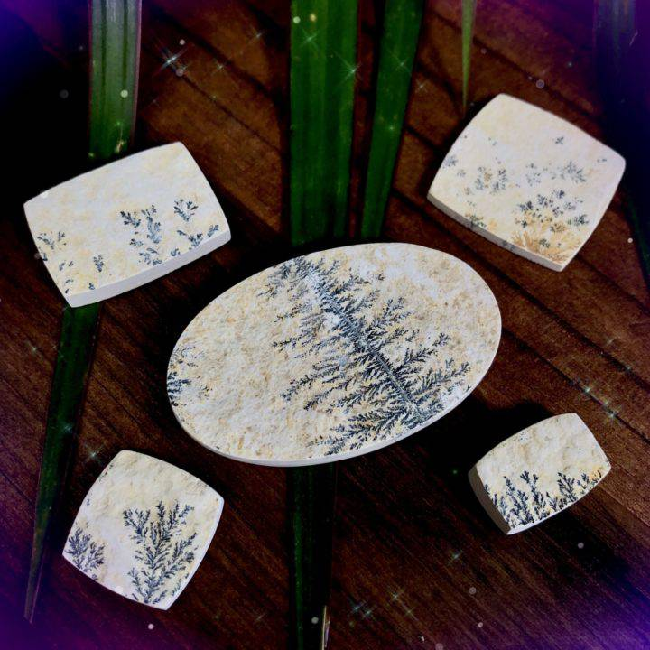 Earth Magic Dendrite Cabochons